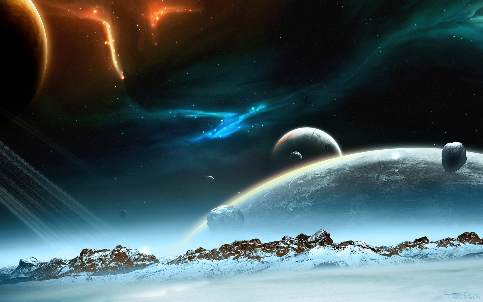 Universe_and_planets_digital_art_wallpaper_Hibernaculum-1